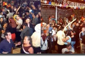 Tras baile masivo reportan 400 casos positivos de Covid-19 en Santiago Choápam, Oaxaca