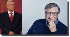 'México puede tener un futuro muy brillante sin el petróleo': Bill Gates a López Obrador