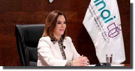 Presidenta del INAI pide que se deje de descalificar y estigmatizar al organismo