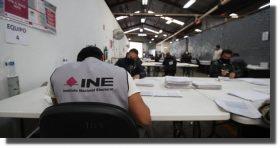 INE se declara en quiebra para consultas; tiene un déficit de 1,500 millones de pesos