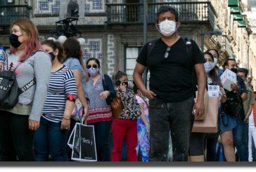 México rebasa los 175 mil muertos por COVID-19