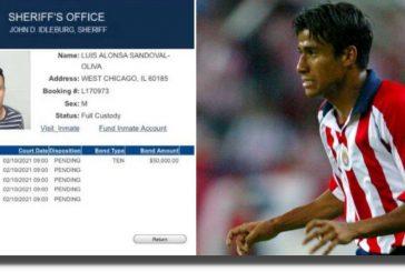 Detienen a ex jugador de Chivas con casi un kilo de droga en EU