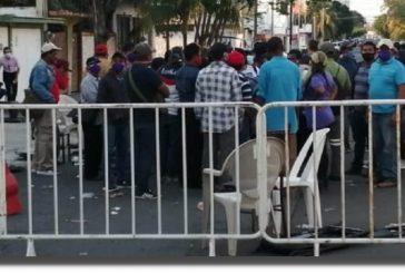 A golpes y sillazos 'revientan' elección interna del PAN por alcaldía de Veracruz