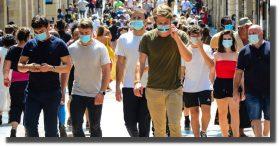 Francia prende alertas por covid: 'la situación se está degradando'
