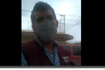 VIDEO: Servidores de la Nación piden INE para registro de vacunas
