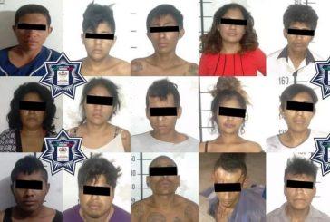 Fiscalía de Oaxaca logra prisión preventiva contra 17 probables delincuentes que operaban en Tehuantepec