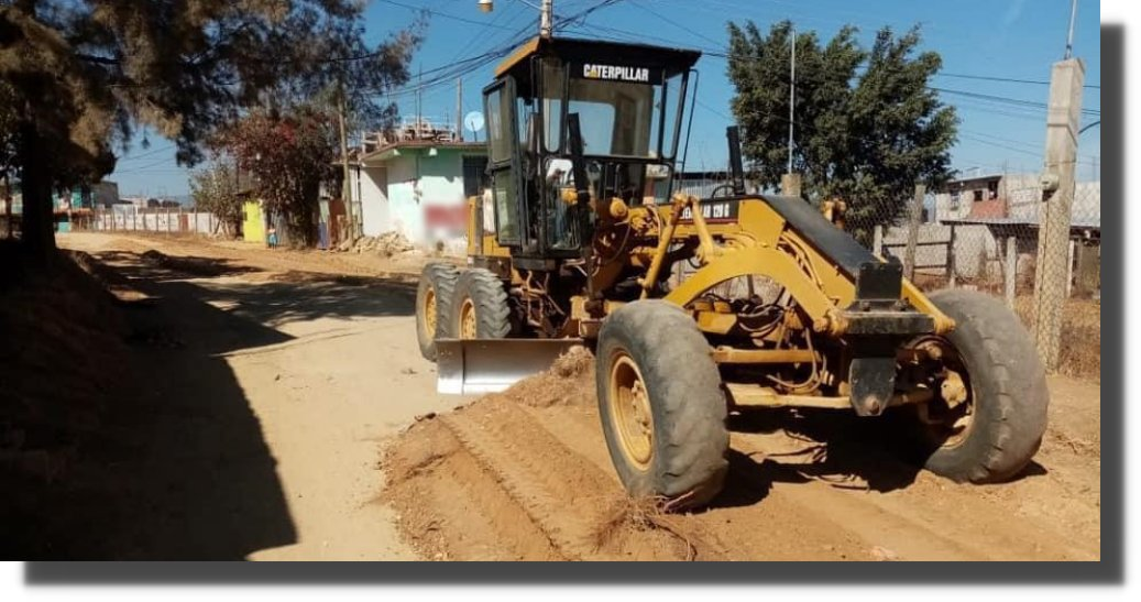 Gobierno de Xoxocotlán continúa con el programa de mejoramiento de calles