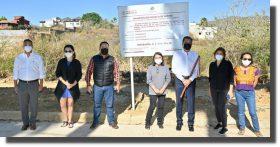 Entrega Ayuntamiento de Oaxaca obra de rehabilitación de drenaje sanitario en San Felipe del Agua