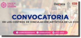 Emite CCO convocatoria para los Centros de Vinculación Artística