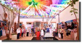 Inaugura IOA muestra artesanal con motivo del Día del Artesano 2021