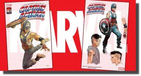 Marvel presenta a Aaron Fisher, el nuevo Capitán América gay