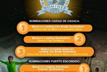 ¡Oaxaca una vez más en las nominaciones de los World Travel Awards!