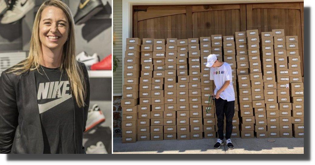 Escándalo en Nike, hijo de vicepresidenta revendía exclusivos tenis de la marca