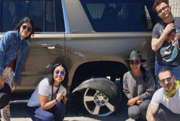 Yalitza se reporta bien de salud tras incidente automovilístico en Oaxaca