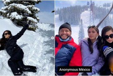 Esposa del hijo de AMLO presume lujosas vacaciones en Aspen