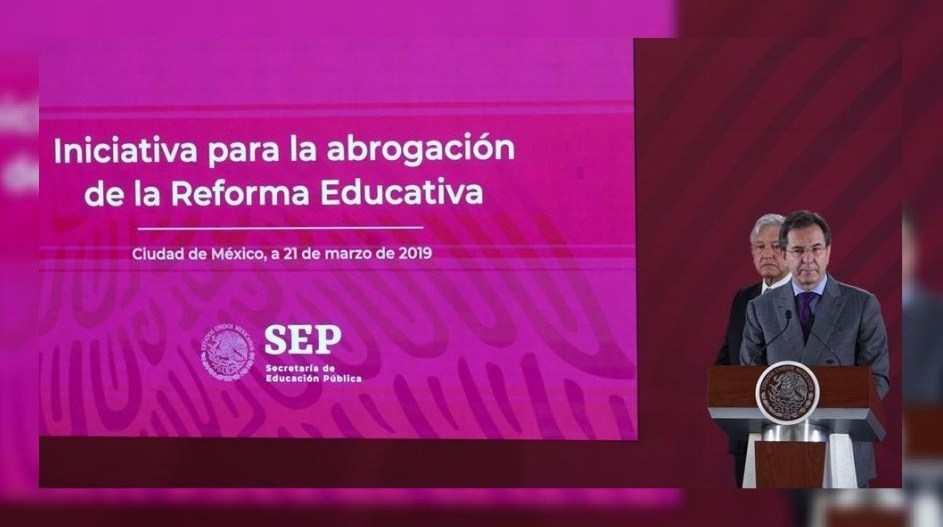 SEP presenta nuevo plan para sustituir la reforma educativa