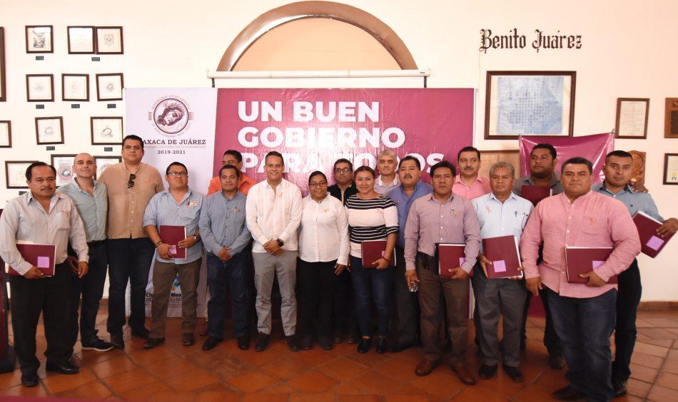 Fortalece Ayuntamiento capitalino banco de materiales de agencias municipales