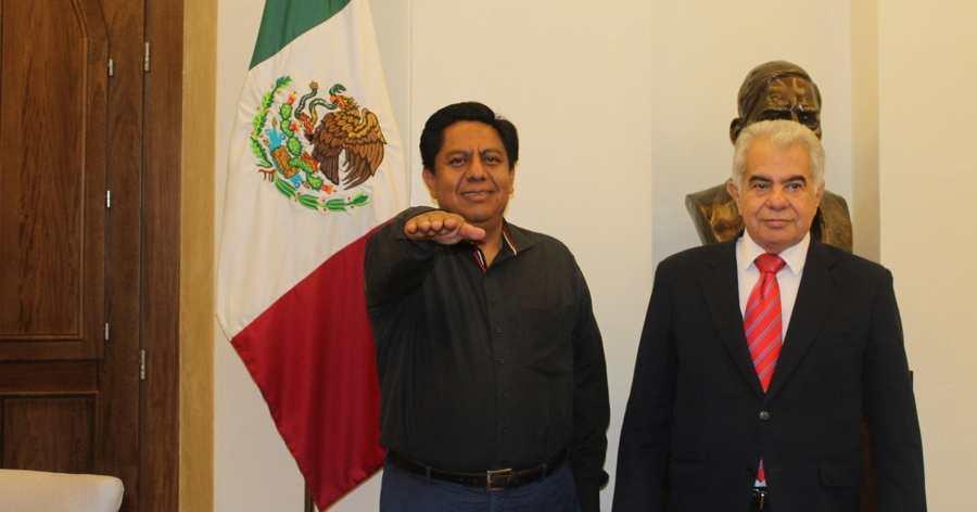 Toman protesta a Juan Rodríguez como Comisionado Especial