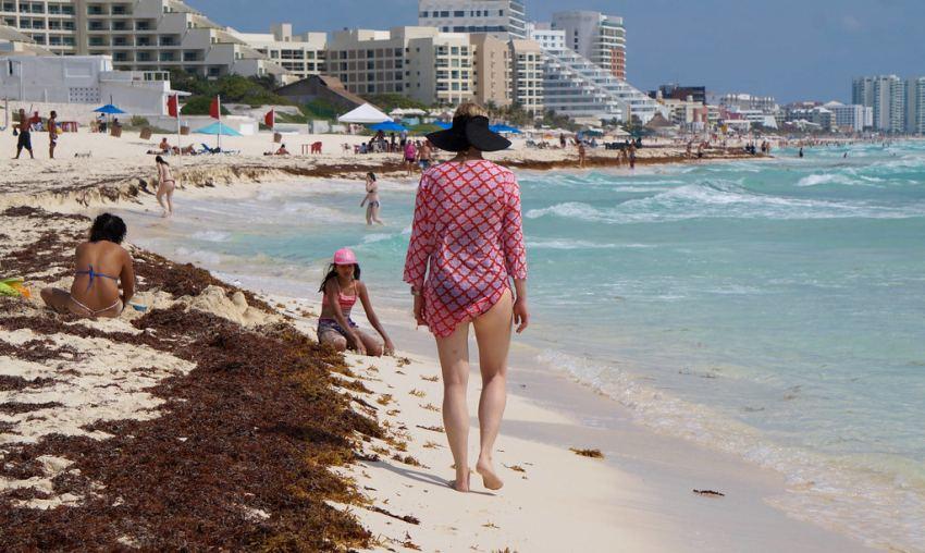 Quintana Roo espera más de 3 millones de turistas; ¿qué harán con el Sargazo?
