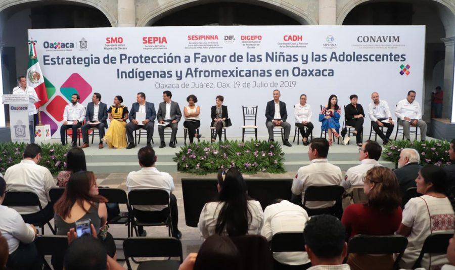 Políticas públicas de Oaxaca fortalecen los derechos de las niñas y adolescentes indígenas y afromexicanas: Murat