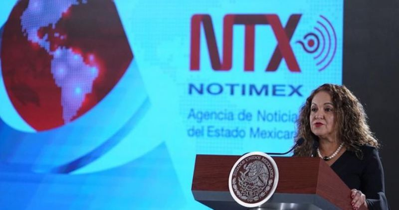 Sanjuana Martínez: Había huachicoleo en Notimex; vendían publicidad como noticias