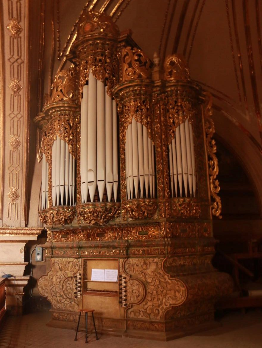 Anuncian concierto en el órgano histórico de la Soledad para celebrar retorno de su caja de vientos del siglo XVIII