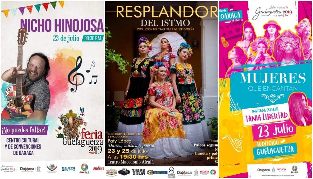 Invita Seculta a eventos culturales para este martes en Oaxaca
