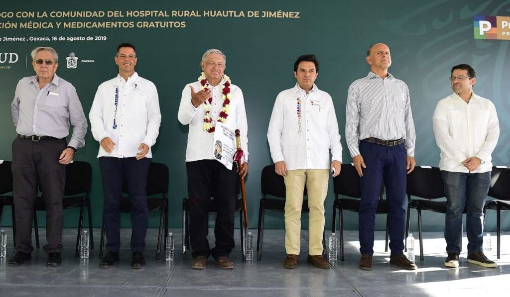 Oaxaca respalda a la Federación en el fortalecimiento de la atención médica de la zona mazateca