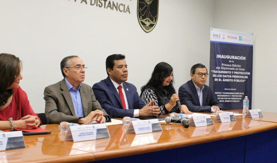 Fue inaugurado Diplomado en línea: Tratamiento y Protección de Datos Personales en el Ámbito Público