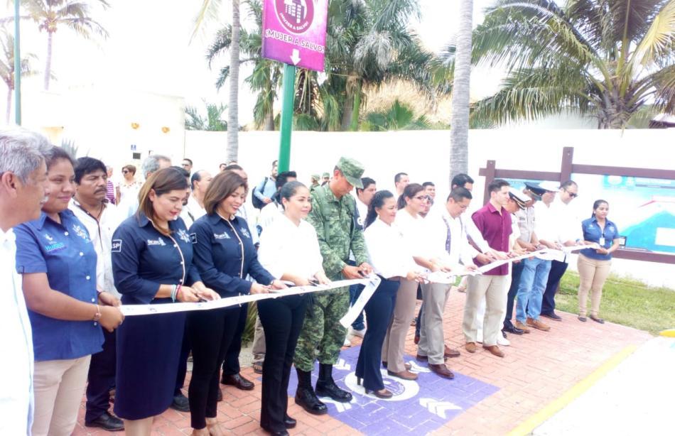SSPO y Huatulco unen esfuerzos  para  prevenir, atender y erradicar la violencia hacia las mujeres