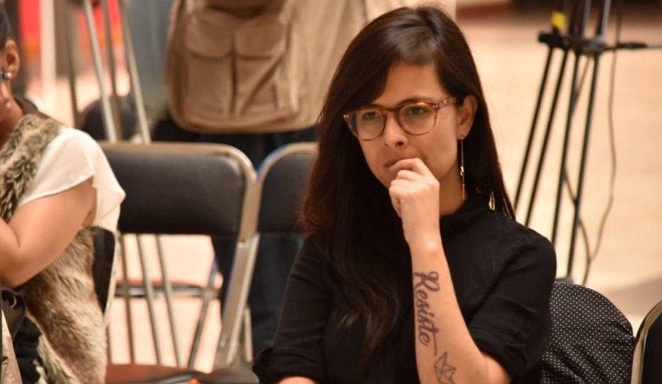 Diputada recibe amenazas por participar en marcha feminista