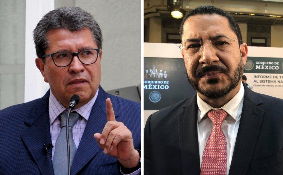Se fractura Morena en la lucha por la presidencia del Senado mexicano