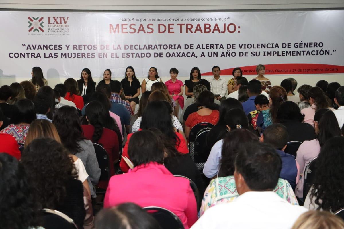SMO informa a legisladoras y legisladores sobre cumplimiento de Alerta de Género