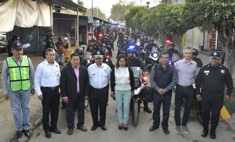 Ayuntamiento arranca en el Mercado de Abasto el Operativo Fieles Difuntos 2019