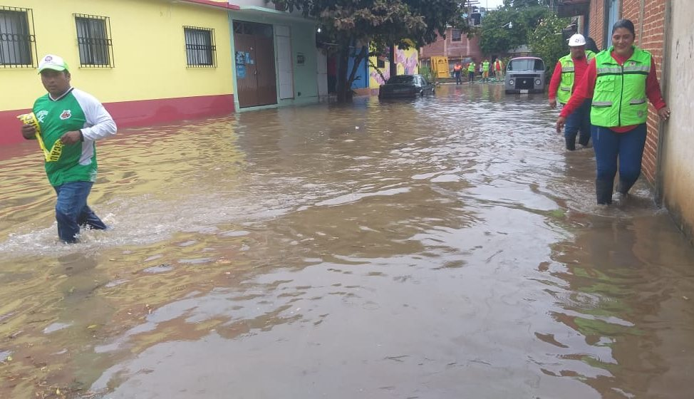Implementa CEPCO operativo por lluvias esta tarde