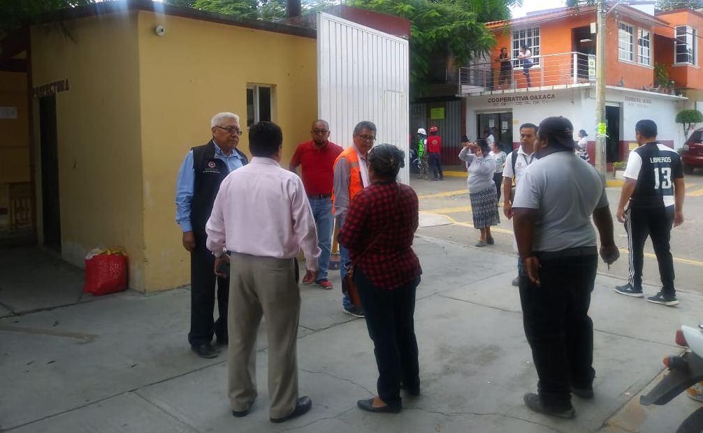 Autoriza IEEPO suspensión de clases en planteles cercanos donde ocurrió explosión