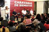 Arropa la agencia de Santa Rosa las Caravanas de Bienestar del Ayuntamiento
