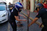 Libera Ayuntamiento de obstáculos calles del Centro Histórico con Operativo Barredora