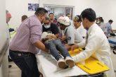 Atiende Red de Servicios de Salud a accidentados de San Pablo Huitzo: Donato Casas