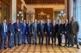 Mantiene Gobierno de Oaxaca coordinación de esfuerzos con la Federación en salud, educación y seguridad
