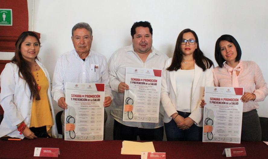 """Anuncia Ayuntamiento capitalino la """"Semana de Promoción y Prevención de la Salud"""""""