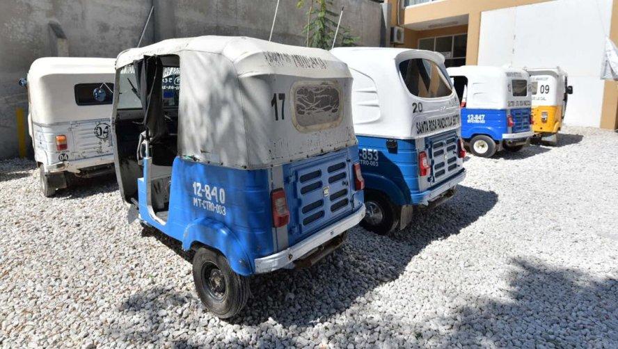 Detienen a cinco mototaxis por ofrecer el servicio de transporte público de manera ilegal
