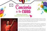 """Cierra Mely Gova el mes de marzo con un """"Concierto a tu casa"""""""