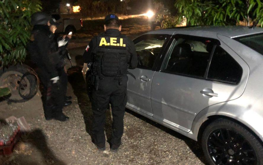 En operativo, detienen a Director de la Policía Municipal de Loma Bonita y a 5 policías municipales