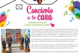"""Llega el trío """"Los Cuerudos"""" para ser parte del proyecto """"Concierto a tu casa"""""""
