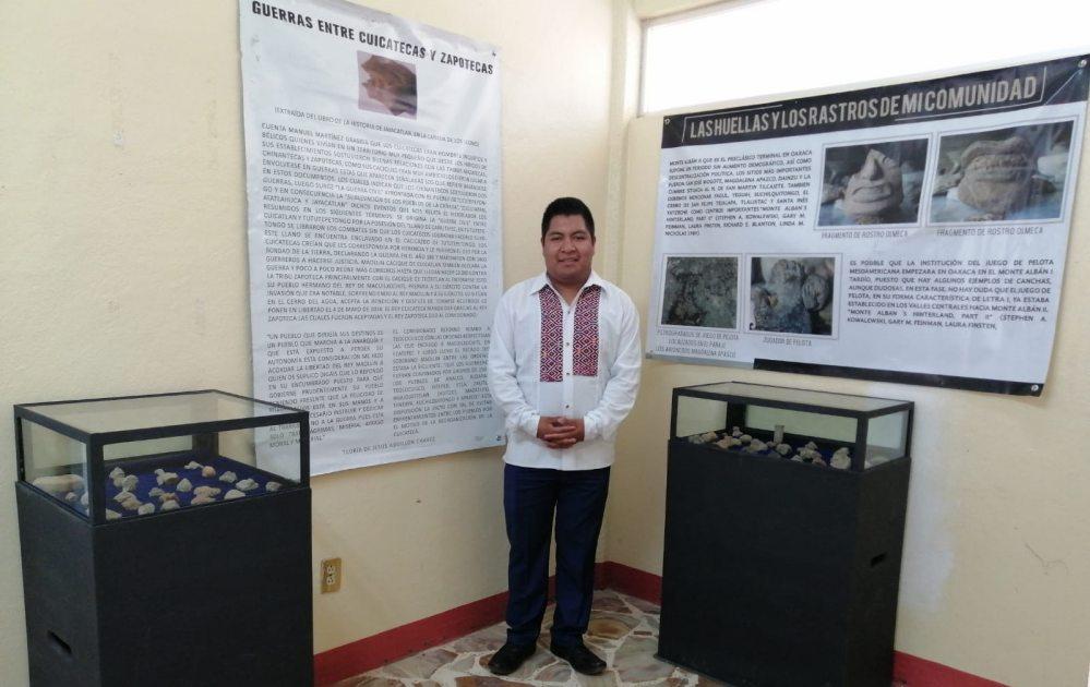 """Estudiante de la UNSIS obtiene Premio Nacional """"Mis Raíces"""""""