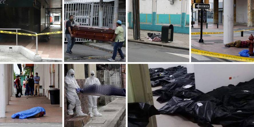 Cadáveres quemados y abandonados en Guayaquil, epicentro del COVID ...
