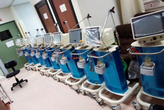 Gobierno de Oaxaca entrega 150 ventiladores más a la red hospitalaria; ya se cuenta con 500 en la entidad