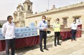 Recibe Ayuntamiento de Oaxaca donación de Grupo FEMSA para hacer frente al COVID-19