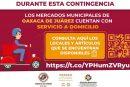 """Consolida Ayuntamiento de Oaxaca de Juárez programa """"Mercado a Domicilio"""""""